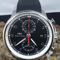 IWC Portuguese Yacht Club Chronograph IW390210 Zeer goed Staal 45.4mm Automatisch