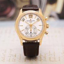 Patek Philippe Annual Calendar Chronograph Rose gold 40mm White No numerals