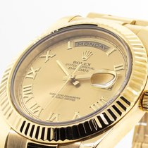 Rolex 218238 Yellow gold 2010 Day-Date II 41mm pre-owned United States of America, Georgia, Atlanta