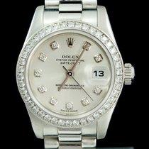 Rolex Date Just Lady-Datejust Datejust 26mm Platin Diamonds