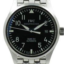"IWC ""Fliegeruhr Classic Mark XVI""  Steel bracelet...."