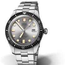 Oris Divers Sixty Five 01 733 7720 4051-07 8 21 18 Oris SIXTY-FIVE Argento Acciaio new