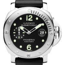 Panerai Luminor Submersible Automatic Acciaio Stainless Steel...