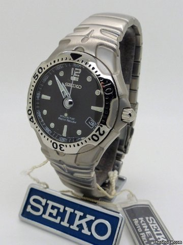 Seiko seiko kinetic auto relay 5j22 0a50 ref sma003p5 sold on chrono24 for Jaeger lecoultre kinetic