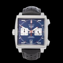 TAG Heuer Monaco Chronograph Stainless Steel Gents CAW211P -...