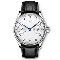 IWC Portuguese Automatic Steel 42.3mm Silver Arabic numerals United States of America, Iowa