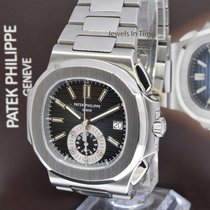 Patek Philippe Nautilus 5980 Chronograph Steel Watch Box/Paper...