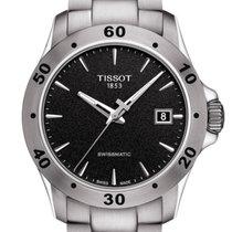 Tissot V8 Steel 42,5mm Black No numerals