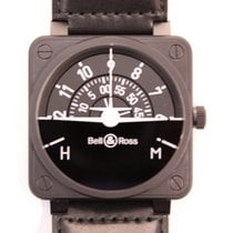 Bell & Ross BR 01-92 Steel 46mm Black Arabic numerals United States of America, Texas, Houston