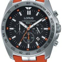 Lorus Steel 46mm Quartz RT331EX9 new