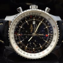Breitling Navitimer World Сталь 46mm Чёрный Без цифр