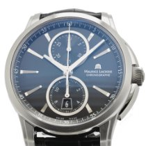 Maurice Lacroix Pontos Chronographe new Automatic Watch with original box and original papers PT6178-SS001-330