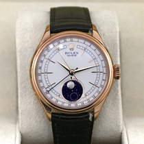 Rolex Cellini Moonphase Rose gold 39mm White No numerals United States of America, New York, New York