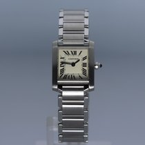 Cartier new Quartz 20mm Steel Sapphire Glass