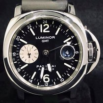 Panerai Luminor GMT Automatic Acier 44mm Noir Arabes