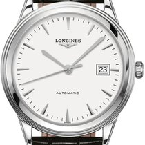 Longines Flagship Steel 38.5mm White United States of America, New York, Airmont