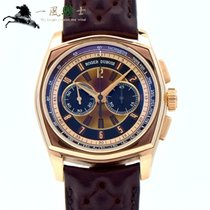 Roger Dubuis La Monégasque Rose gold 44mm Brown