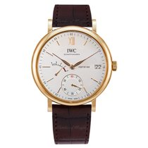 IWC Red gold Manual winding Silver 45mm new Portofino Hand-Wound