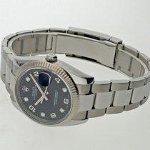 Rolex Oyster Perpetual Date Stahl 34mm Schwarz Arabisch Deutschland, Augsburg