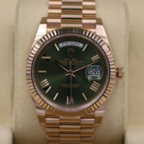 Rolex Day-Date 40 Oro rosado 40mm Marrón