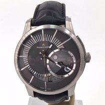 Maurice Lacroix Pontos Décentrique GMT Titanium 45mm Grijs