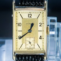 Jaeger-LeCoultre Reverso (submodel) Ouro amarelo 22mm Champanhe Árabes