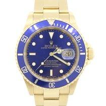 Rolex Or jaune Submariner 40mm occasion