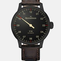 Meistersinger Steel 43mm Automatic AM902BL new