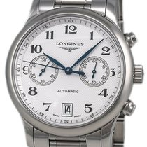 Longines Master Collection Steel 38.5mm Silver Arabic numerals United States of America, New York, Monsey