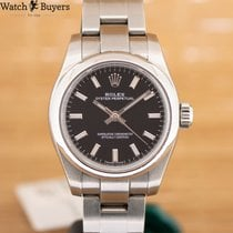 Rolex Oyster Perpetual 26 Steel 26mm Black Arabic numerals