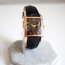 Girard Perregaux Or jaune Remontage automatique Noir Arabes 29mm occasion Vintage 1945