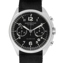 Hamilton Khaki Pilot Pioneer new Automatic Chronograph Watch with original box and original papers H76456435