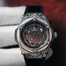 Hublot Big Bang Sang Bleu Steel 39mm Black
