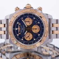 Breitling pre-owned Automatic 44mm Black Sapphire crystal 50 ATM