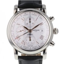 Montblanc Steel 42mm Automatic 113880 new
