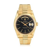 Rolex Day-Date 36 Yellow gold 36mm Black United States of America, New York, New York