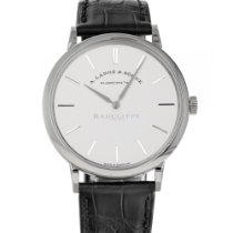 A. Lange & Söhne Saxonia White gold 37mm Silver No numerals United States of America, Maryland, Baltimore, MD