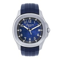 Patek Philippe Aquanaut White gold 42mm Blue Arabic numerals United States of America, New York, New York