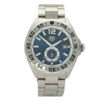 TAG Heuer Formula 1 Calibre 6 Steel 43mm Blue No numerals
