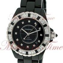 Chanel J12 38mm Automatic Haute Joaillerie, Black Diamond...