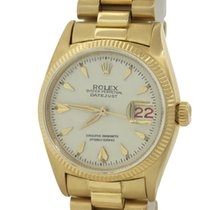 Rolex DateJust 6605 Solid 18k Gold President Band 36mm Watch