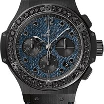 Hublot JEANS CERAMIC BLACK DIAMONDS