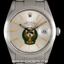 ロレックス (Rolex) S/S O/P Silver UAE Crest Eagle Logo Dial Date...