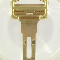 Cartier Folding Clasp 18K Yellow Gold 18 MM