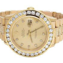 Rolex 18k Solid Yellow Gold Mens Rolex Datejust Presidential...