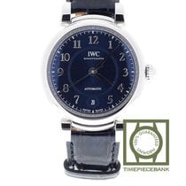 IWC Da Vinci Automatic Stål 36mm Blå Arabiska
