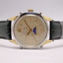 Gübelin Moonphase Stainless Steel Automatic 37mm Men's Watch