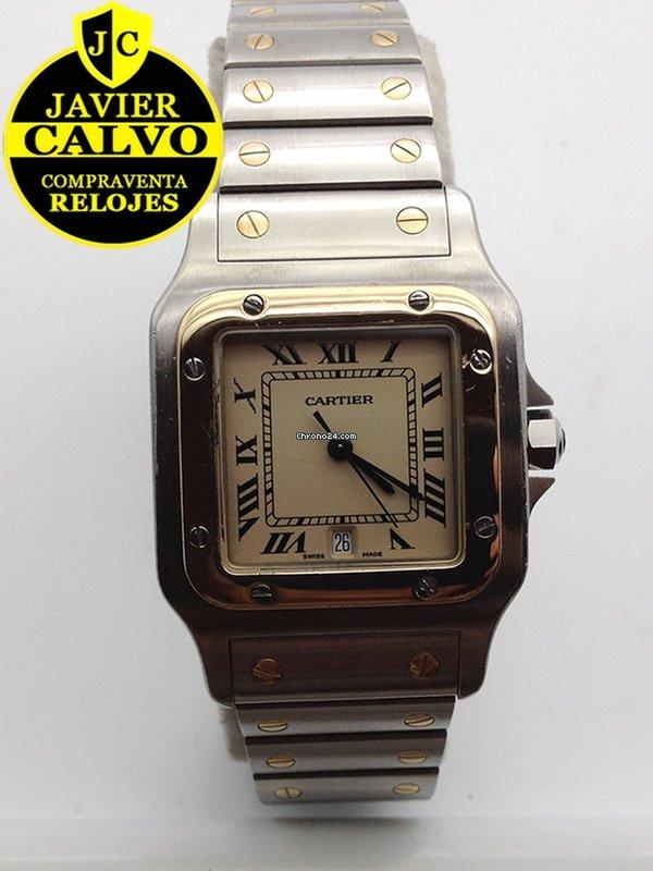 6a686891050 Relojes Cartier Santos de segunda mano