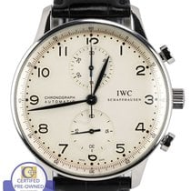 IWC MINT IWC Portuguese Chronograph Stainless Blue 41mm 3714...