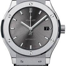 Hublot Classic Fusion Racing Grey Titanium 42mm Grey No numerals United States of America, New York, NYC